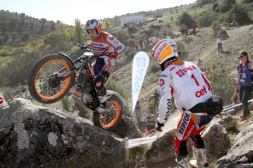 Toni Bou se adjudica su sexto Campeonato de España de Trial