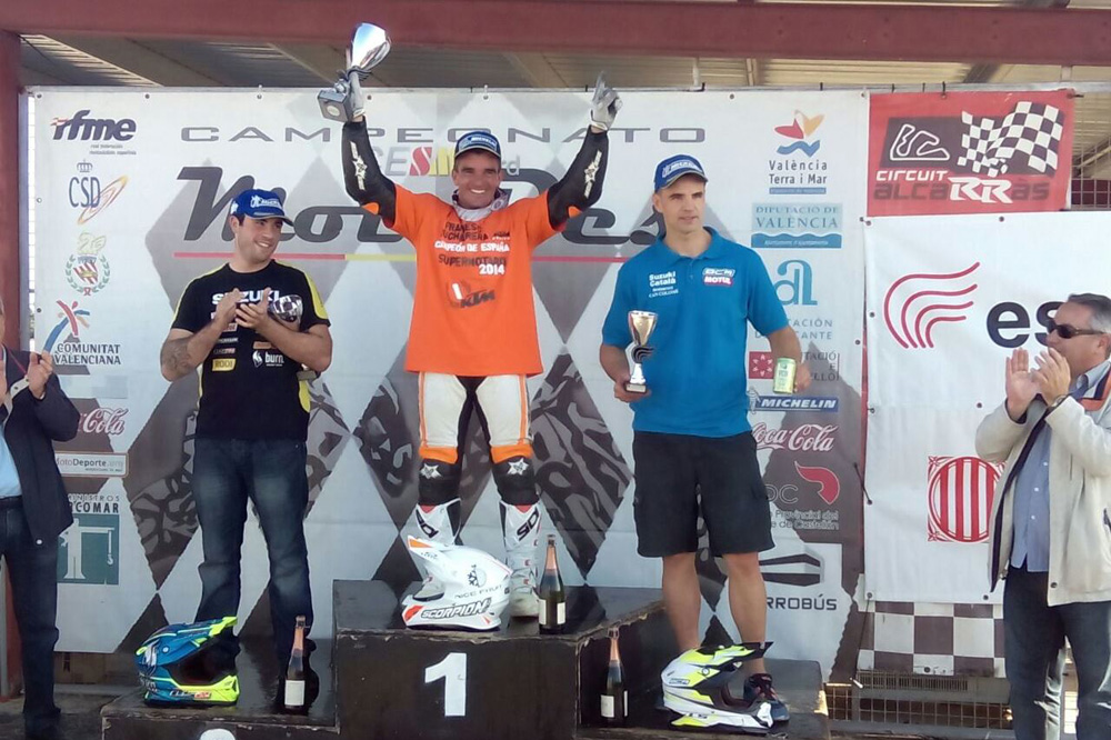 Cucharrera se proclama Campeón de España de Supermotard