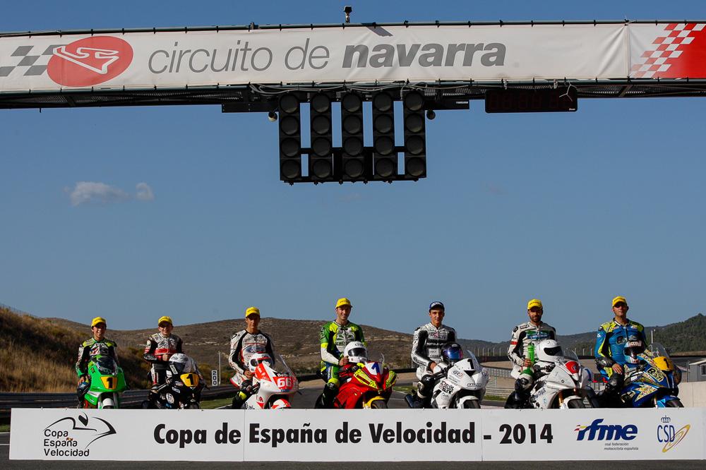 La Copa de España de Velocidad ya conoce a todos los campeones