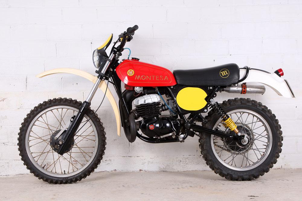 Clásica: Montesa Enduro 250 H6 1978