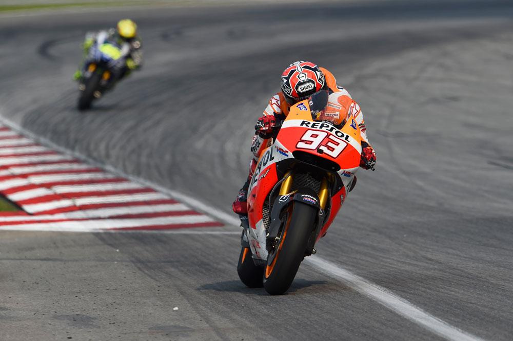 Márquez lidera el FP1 de MotoGP