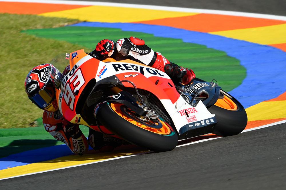 Márquez, el más rápido de la primera jornada