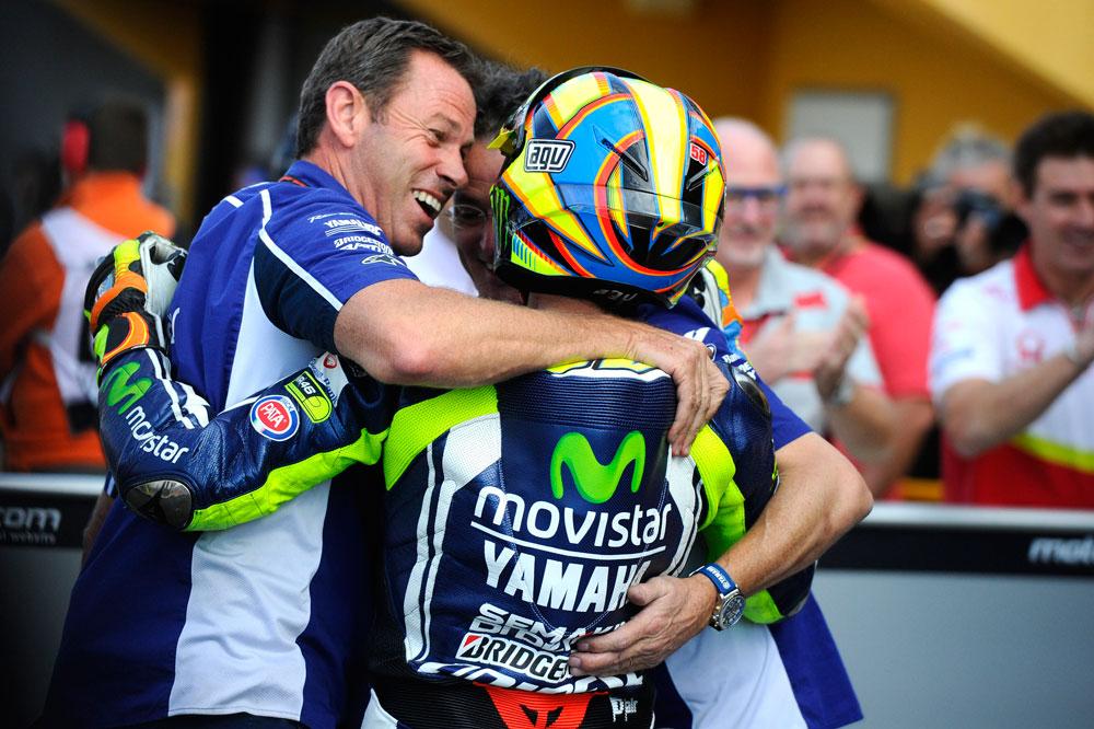 Valentino Rossi: La pole ha sido una gran sorpresa