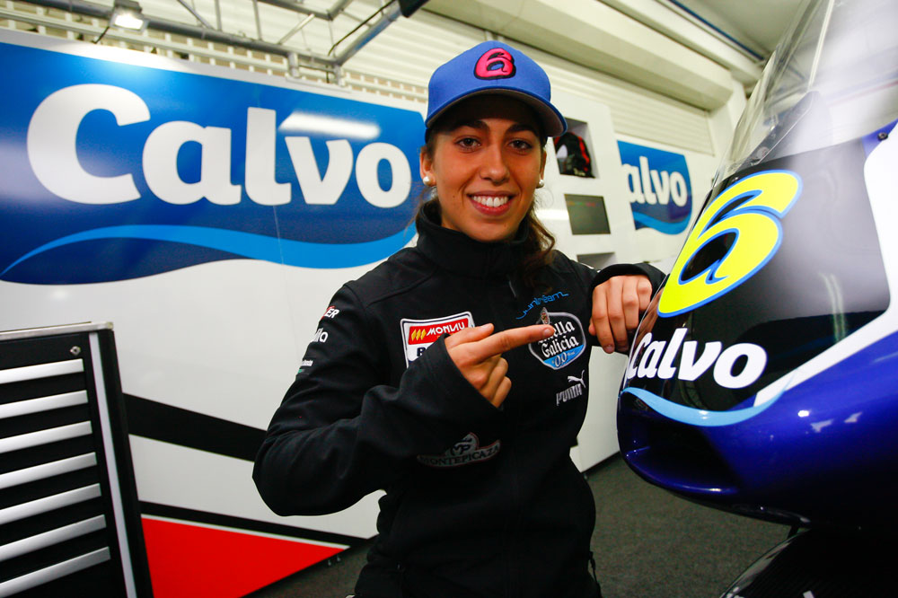María Herrera, con el Calvo Team las próximas dos temporadas