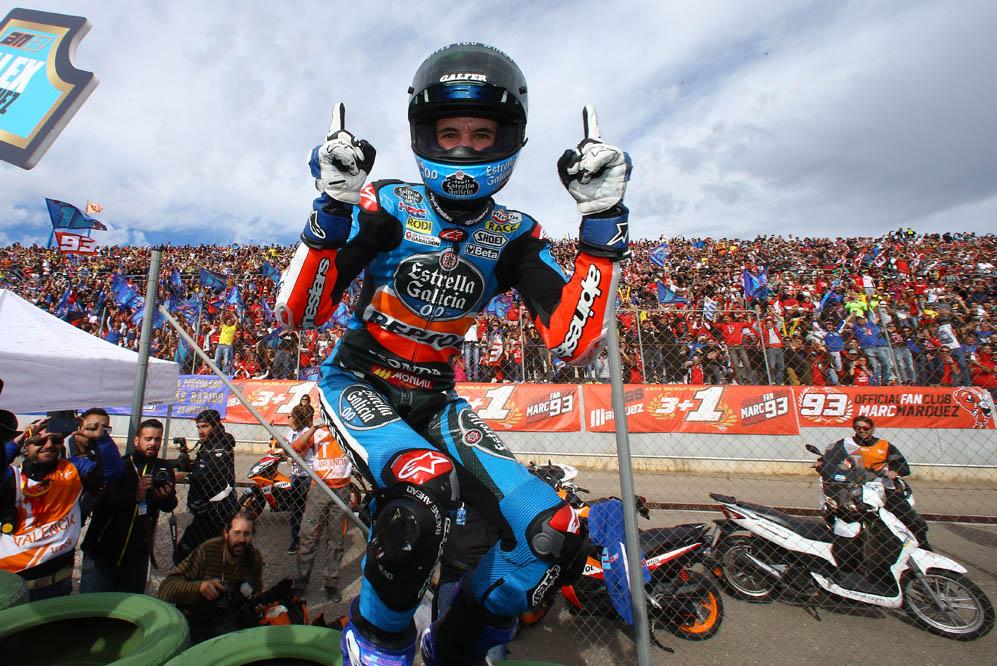 Alex Márquez: Quería ganar el título limpiamente, y lo he conseguido