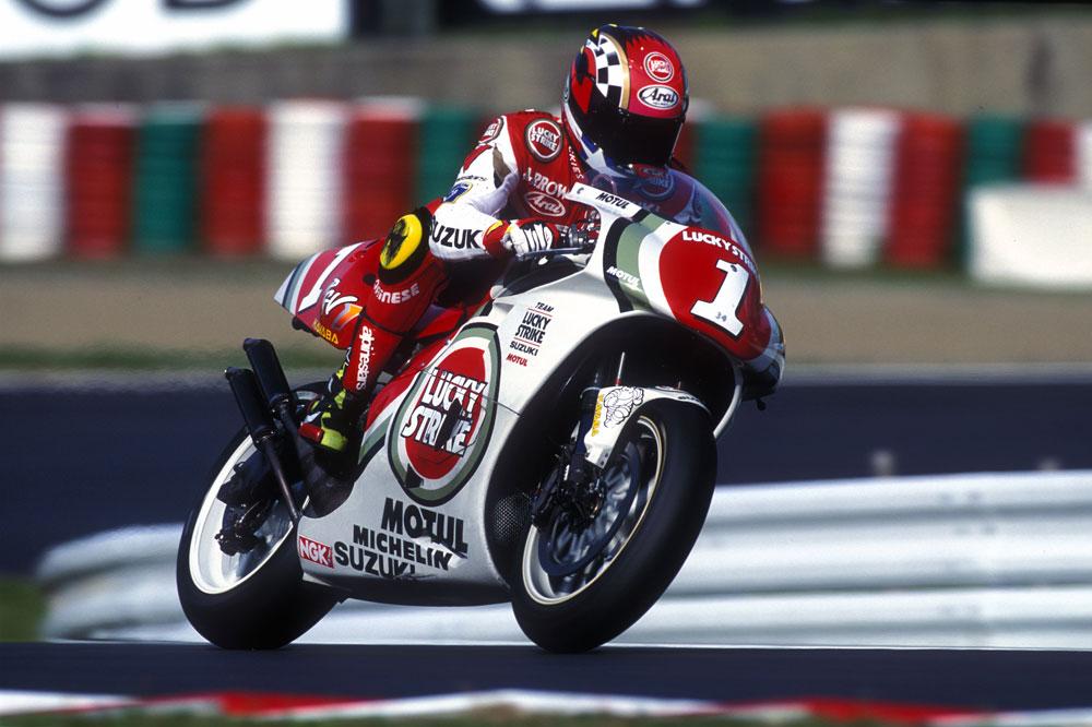 La historia de Suzuki en el Mundial de MotoGP