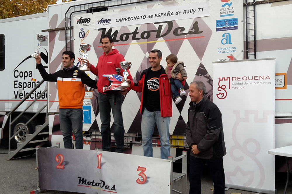 Marc Solá domina la cuarta prueba del Nacional de Raids en Requena