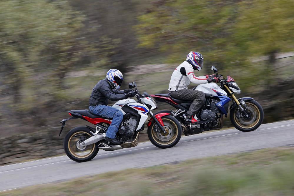 Comparativa Honda CB1000R / CB650F