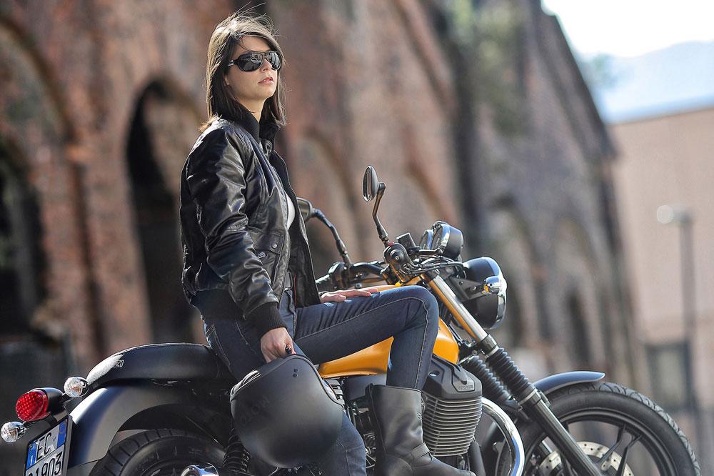 Chaquetas de moto para mujeres