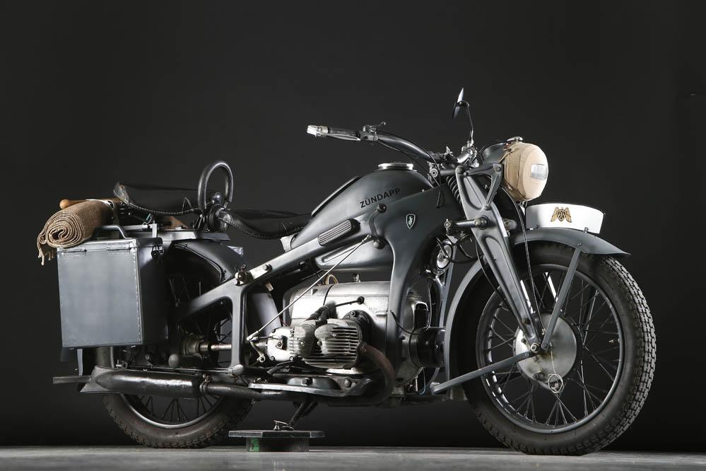 Moto clásica: Zündapp KS600