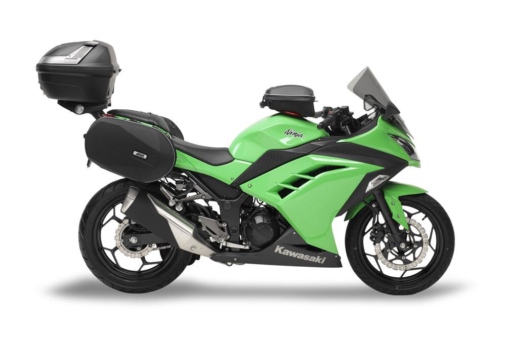 Accesorios Givi para la Kawasaki Ninja 300