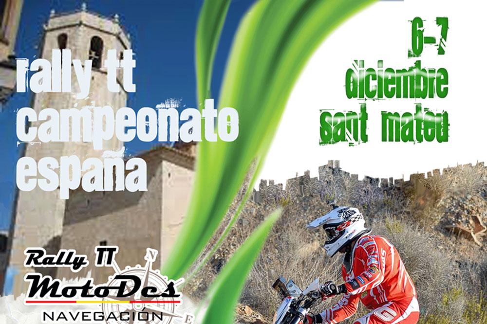 Última prueba del Campeonato de España de Rally TT en Sant Mateu