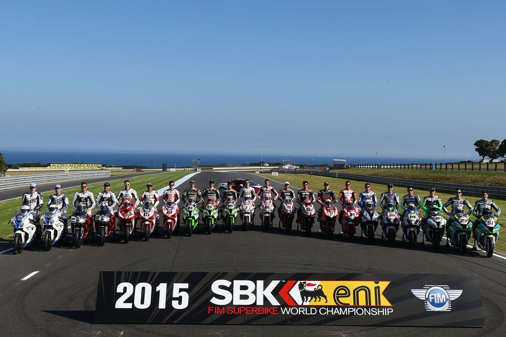 Listado provisional de equipos y pilotos de SBK 2016