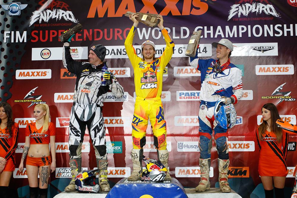 Taddy Blazusiak líder absoluto en la primera prueba del Mundial de SuperEnduro