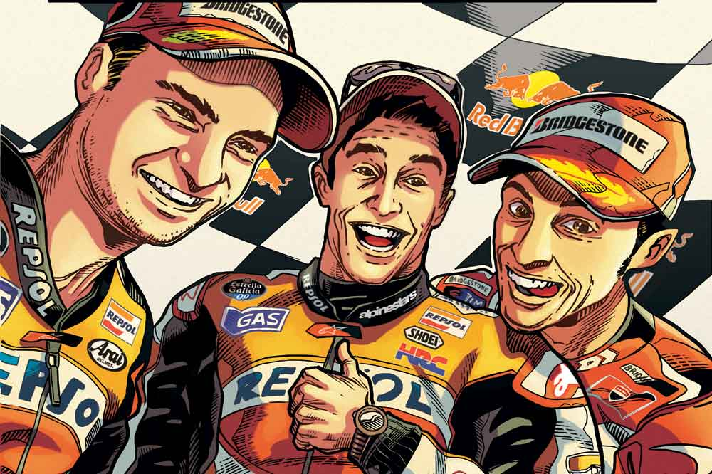 El cómic del Mundial de MotoGP 2014, el mejor regalo para esta Navidad