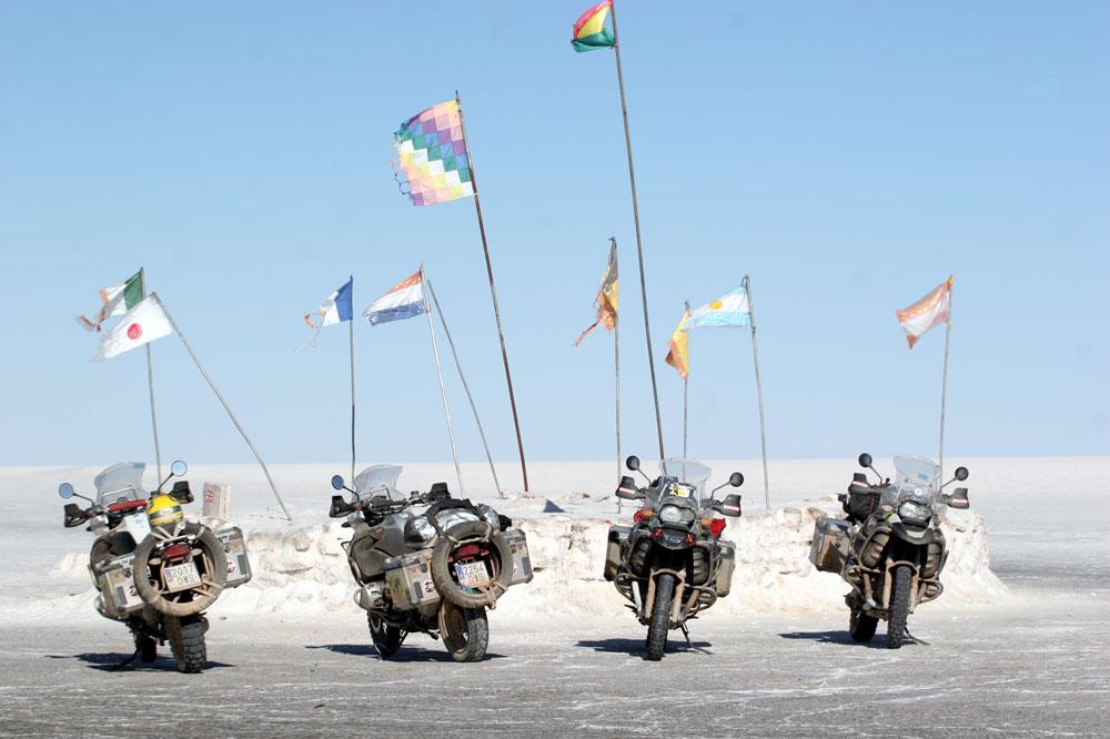 América2: el mayor viaje en moto jamás organizado