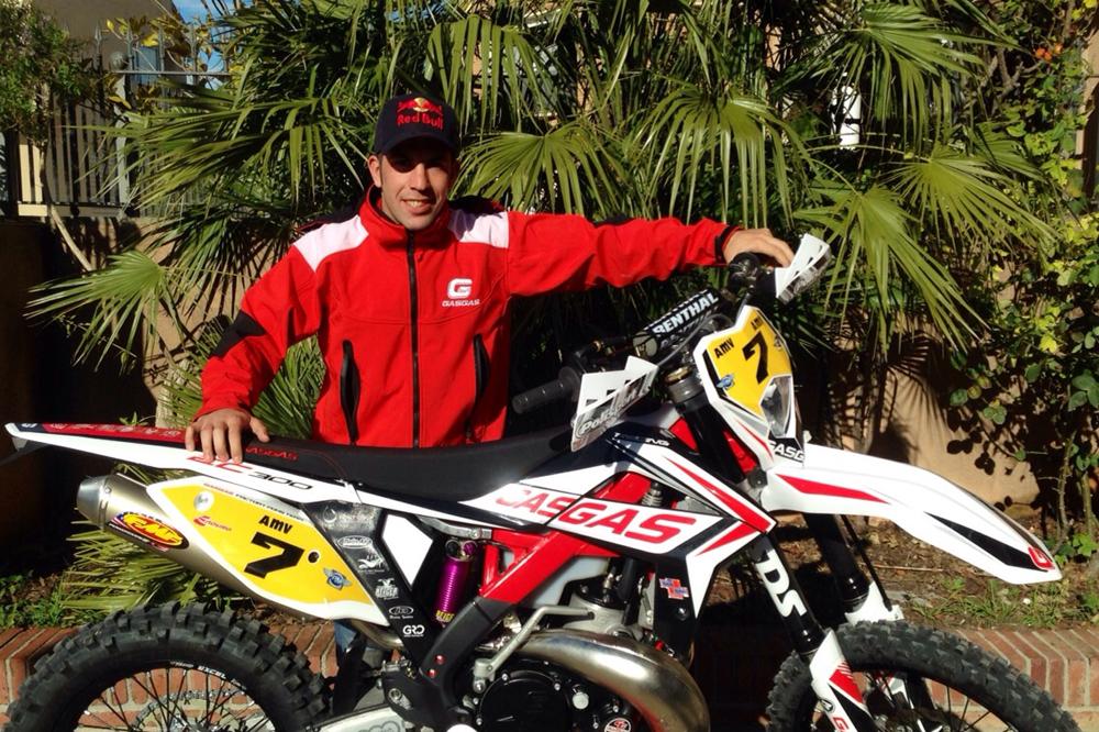 Jonathan Barragán firma por Gas Gas Factory Pons Team para el mundial y nacional de Enduro