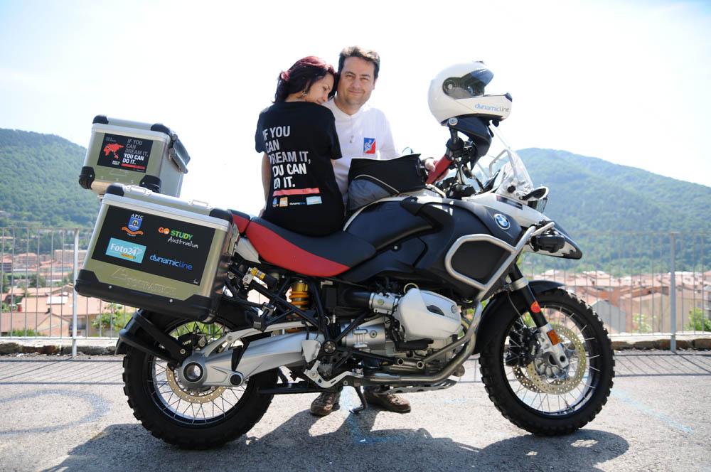 De Barcelona a Sidney en moto