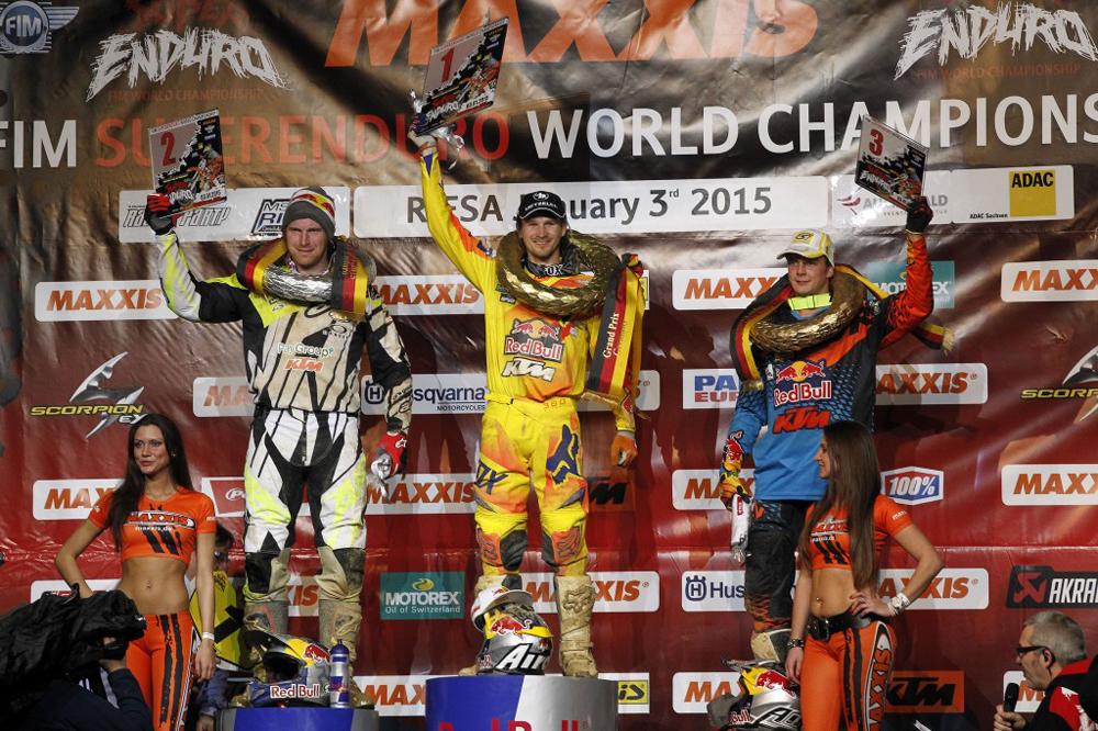 Blazusiak gana la segunda prueba del Mundial de SuperEnduro