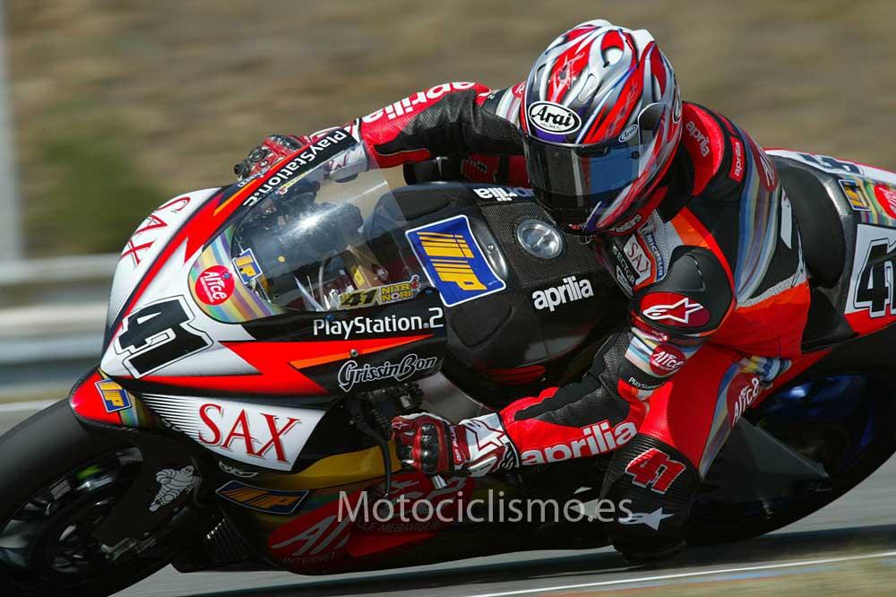 La historia de Aprilia en el Mundial de MotoGP