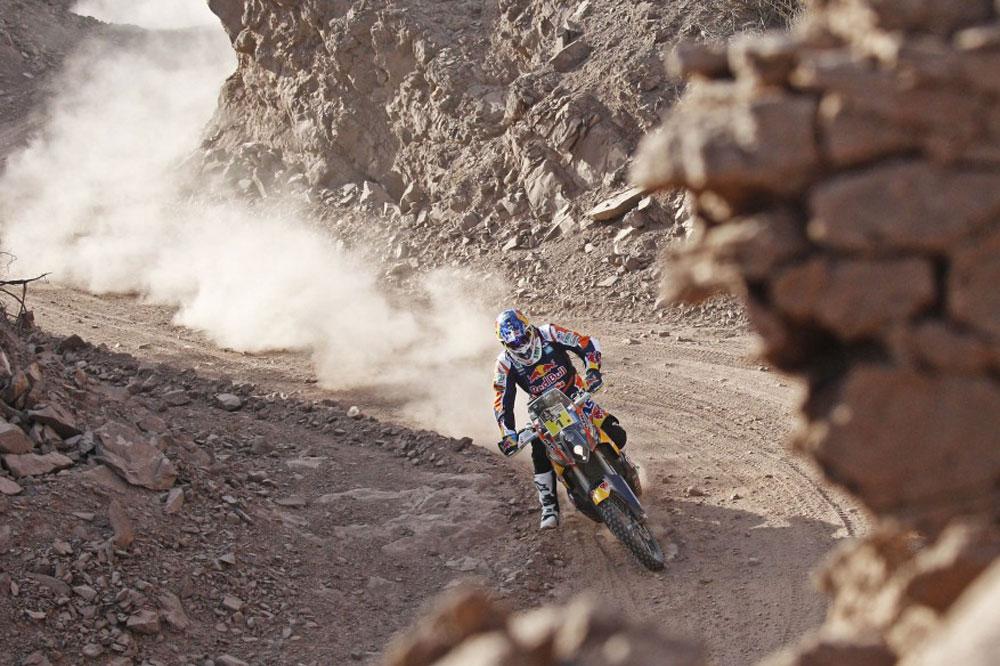 Dakar 2015: Coma se anota la primera y recorta distancias con Barreda