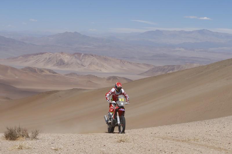 Dakar 2015: Barreda y Coma mantienen el pulso en la sexta etapa