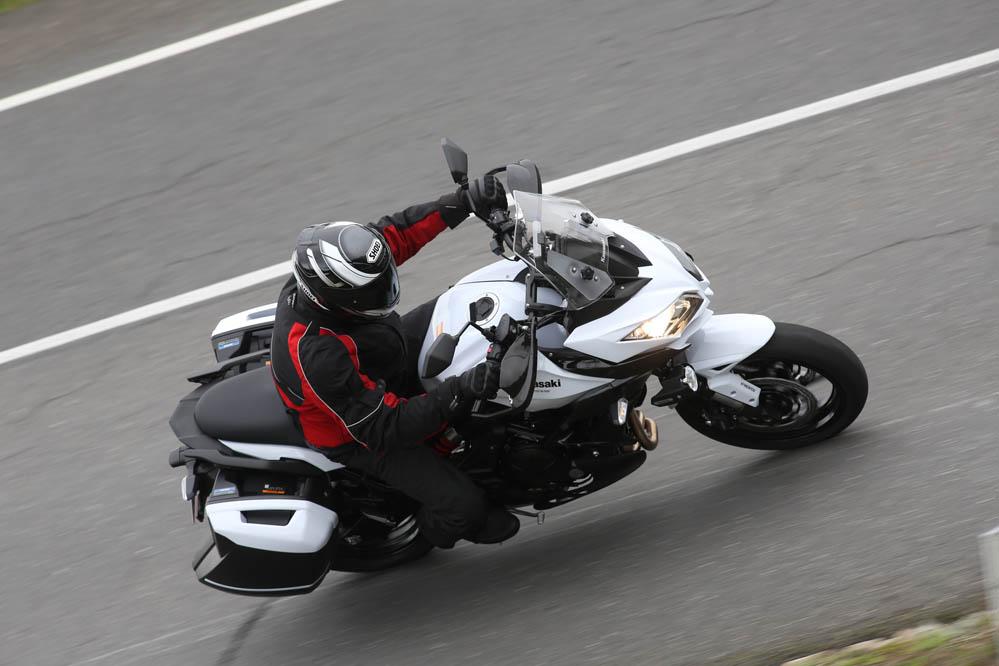 Kawasaki Versys 650 2015. Prueba