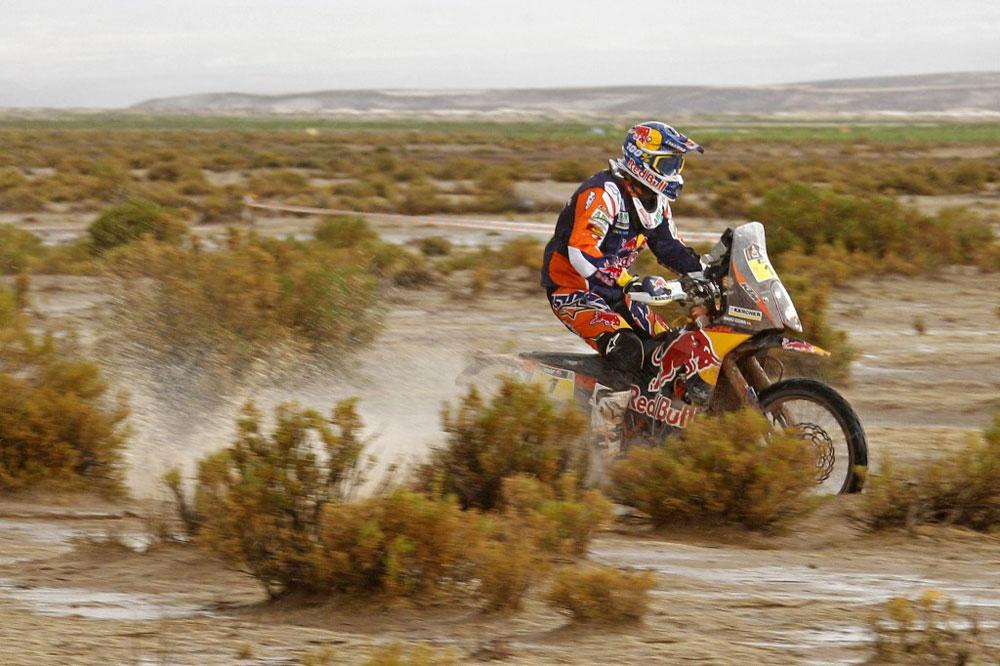 Marc Coma, nuevo líder del Dakar 2015