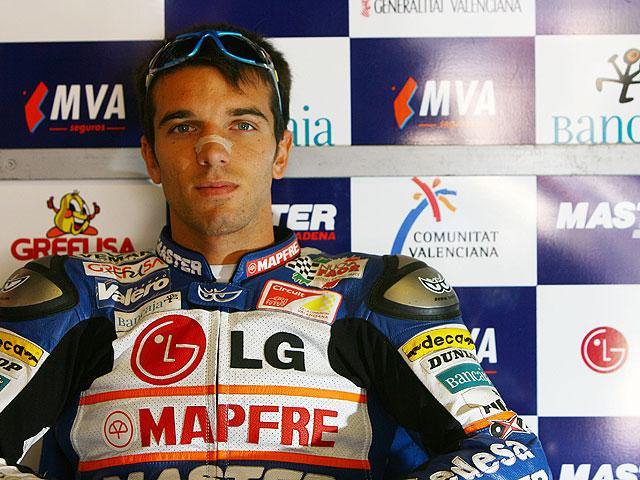 De Angelis a MotoGP con Gresini