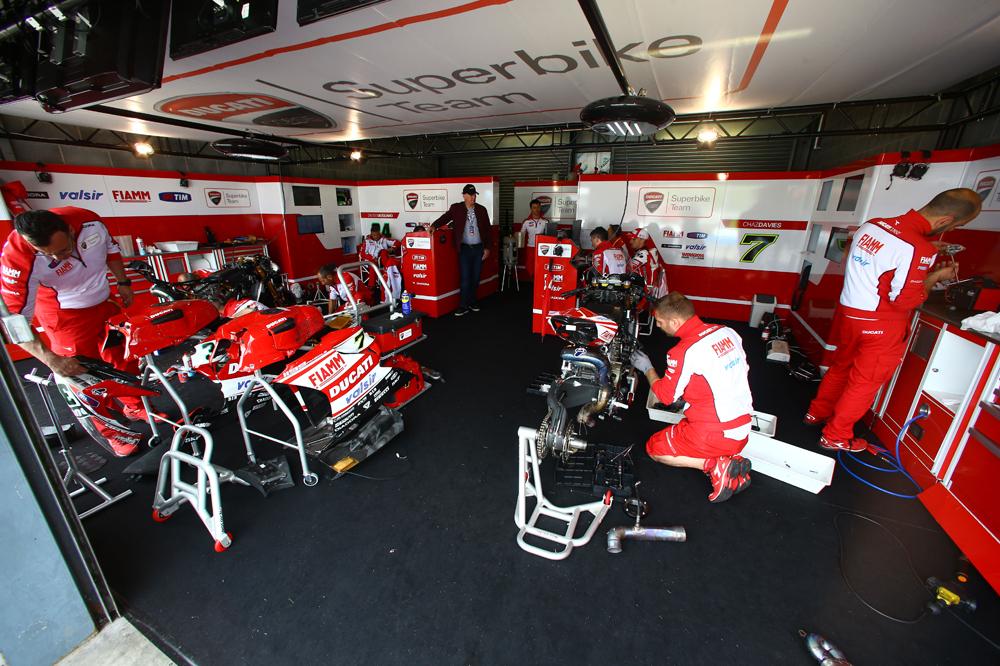 Ducati y Aruba juntos en Superbike