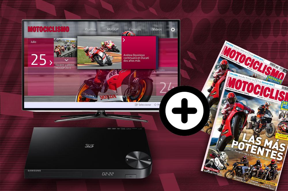 Con Motociclismo, convierte tu televisor en una SmartTV