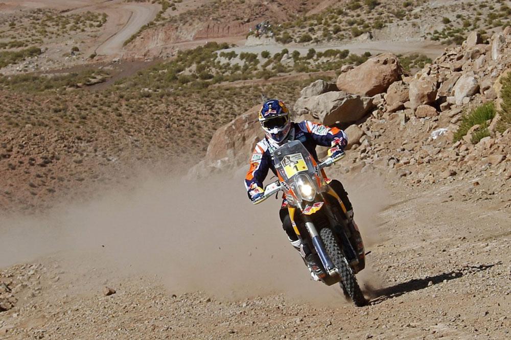 Marc Coma, directo a su quinto Dakar
