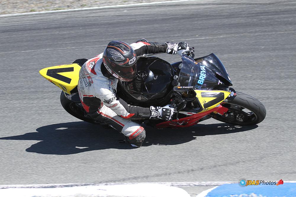 David Vázquez en el Supersport de Nueva Zelanda