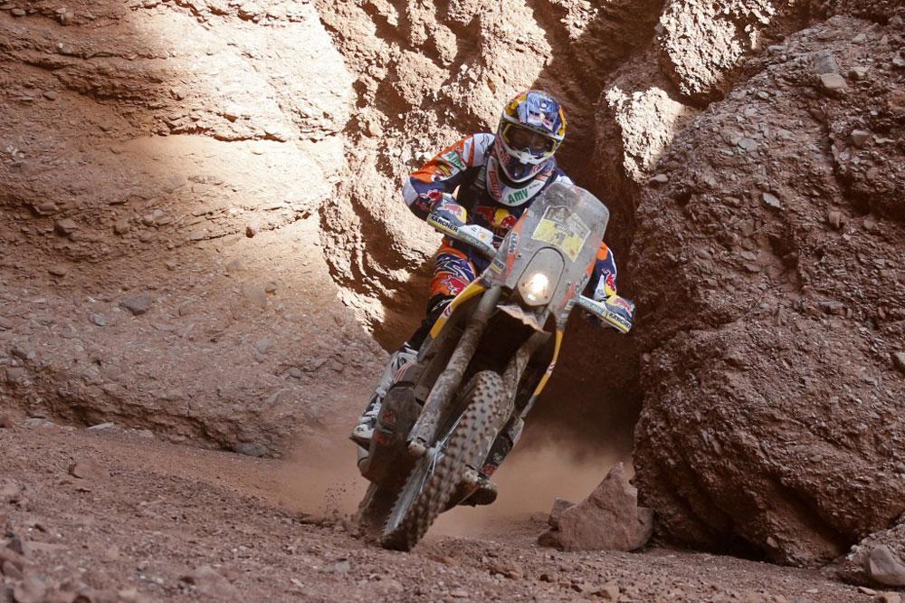 Marc Coma tiene a tiro su quinto Dakar