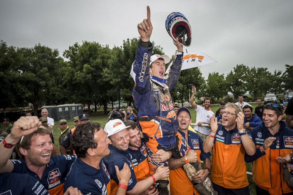 Marc Coma gana su quinto Dakar
