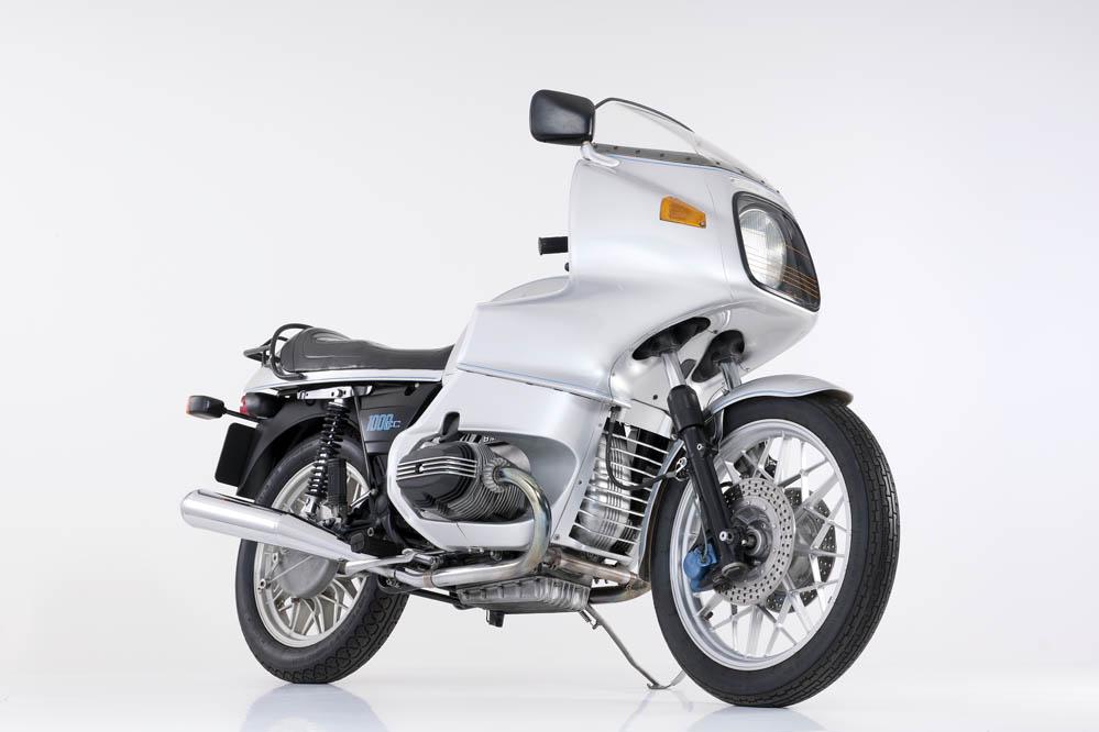 Moto clásica: BMW R100RS