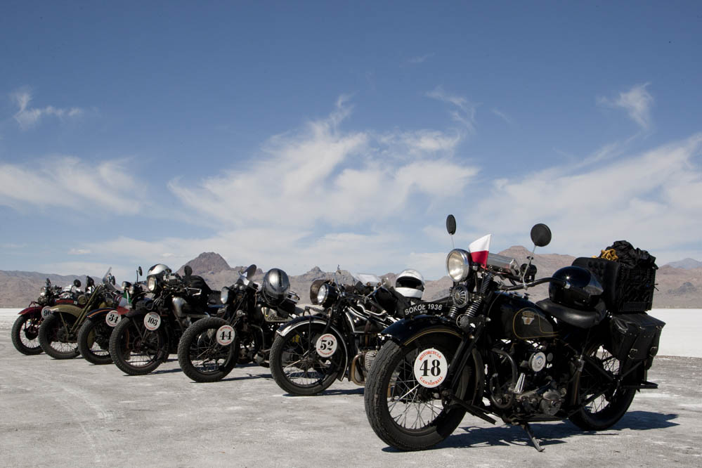 Motorcycle Cannonball Race