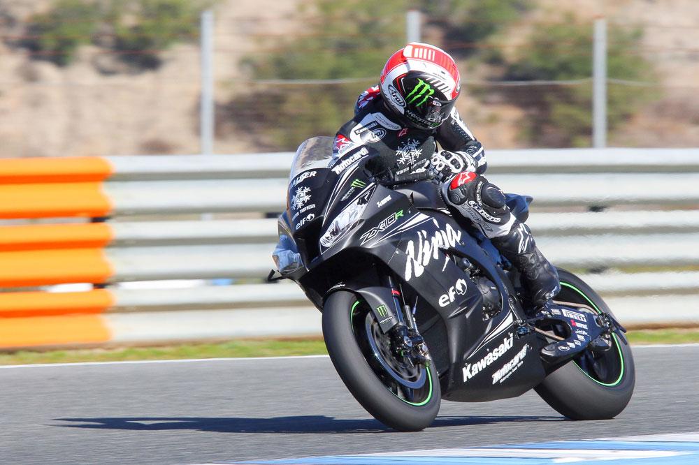 Jonathan Rea, el más rápido la primera jornada en Jerez