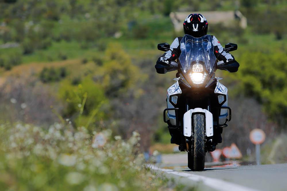 KTM 1290 Super Adventure. Prueba