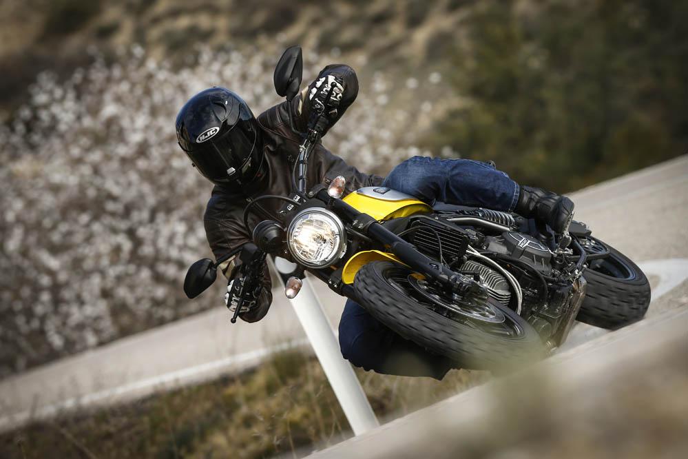Ducati Scrambler Icon. Prueba