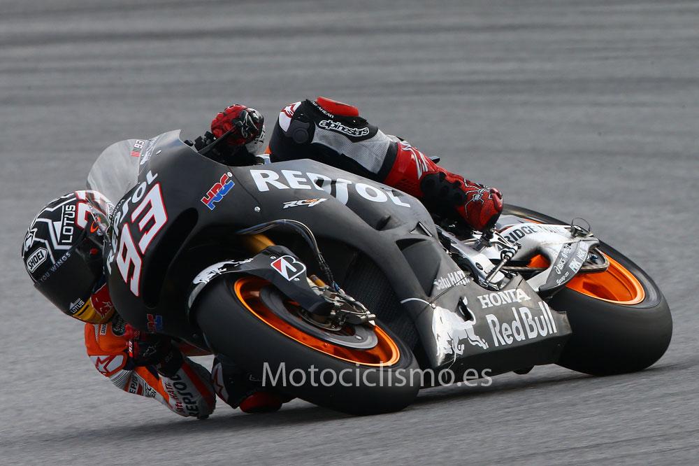 Márquez: Ya me siento mejor con la moto de 2015 que con la del año pasado
