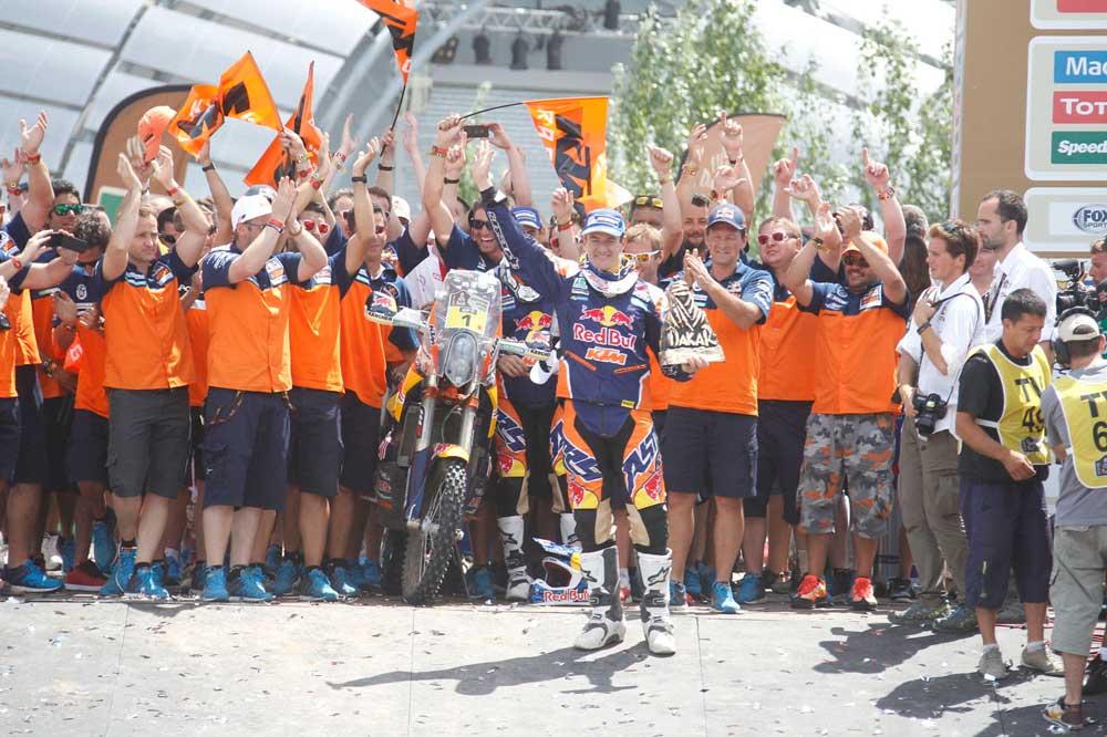 Marc Coma seguirá en las motos y luchará por su sexto Dakar