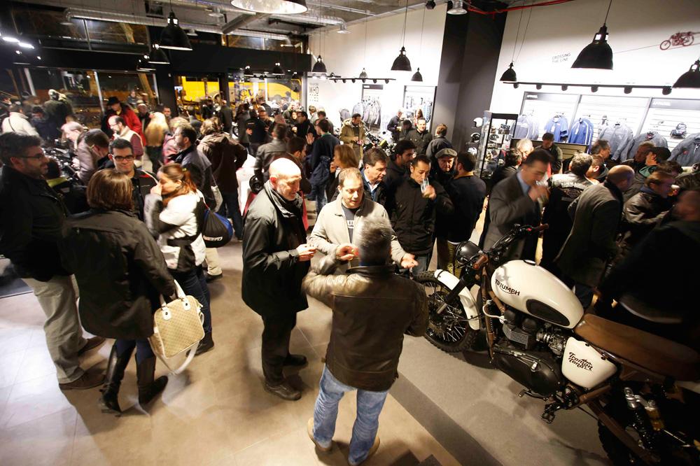 Triumph Madrid presentó sus modelos 2015