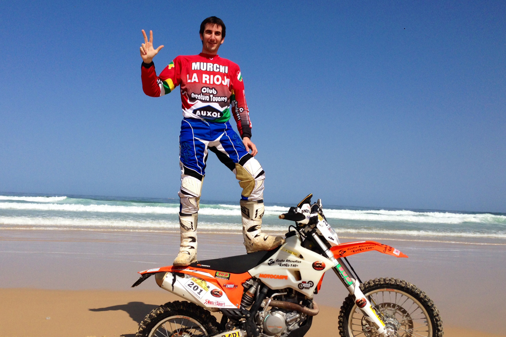 Víctor Rivera consigue su tercer Intercontinental Rally Almería-Dakar