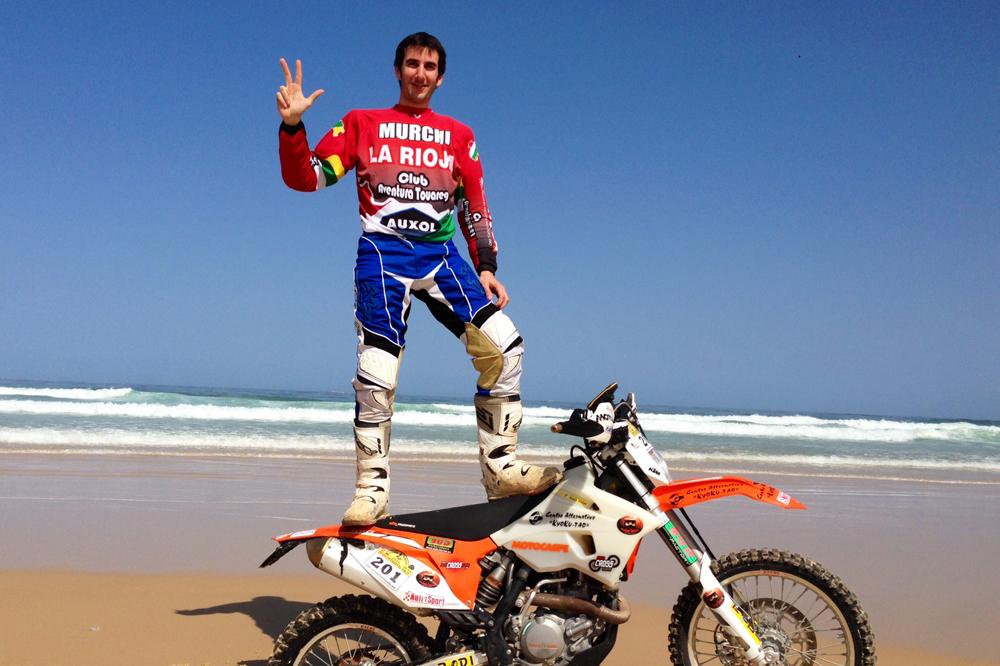 Víctor Rivera consigue su tercer Intercontinental Rally Almería-Dakar