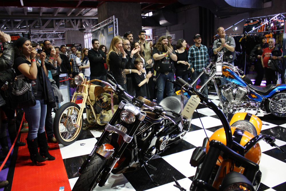 MotoMadrid 2015 reedita el Custom Bike Show