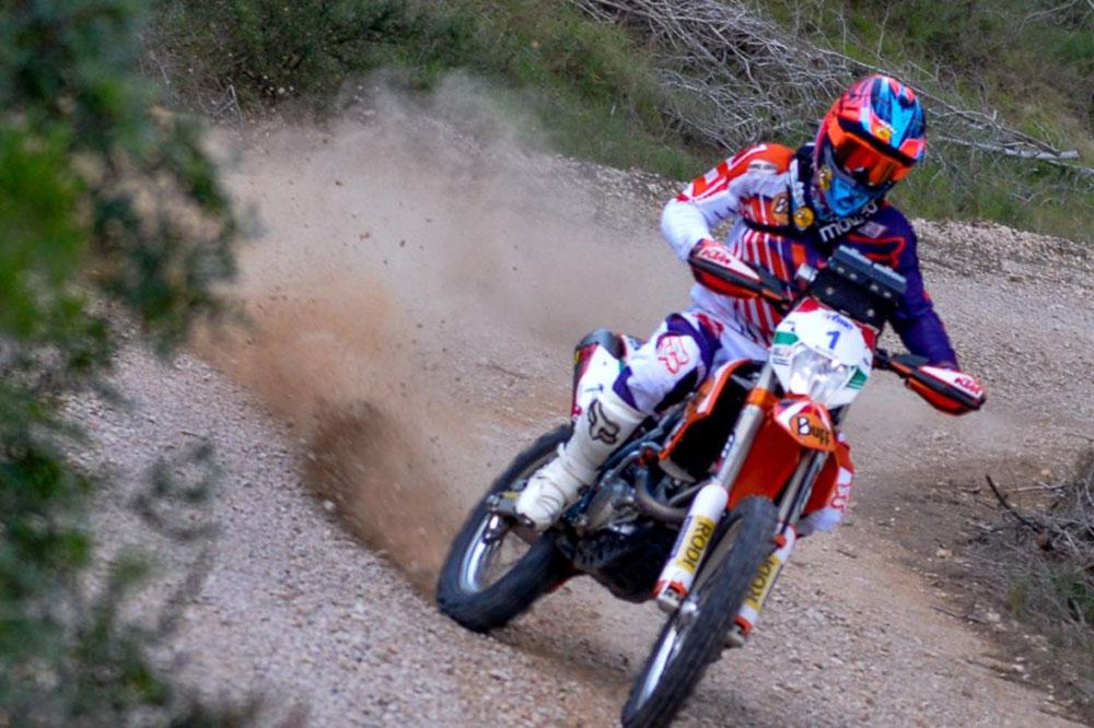 Armand Monleón gana ambos días en el Nacional de Rally TT