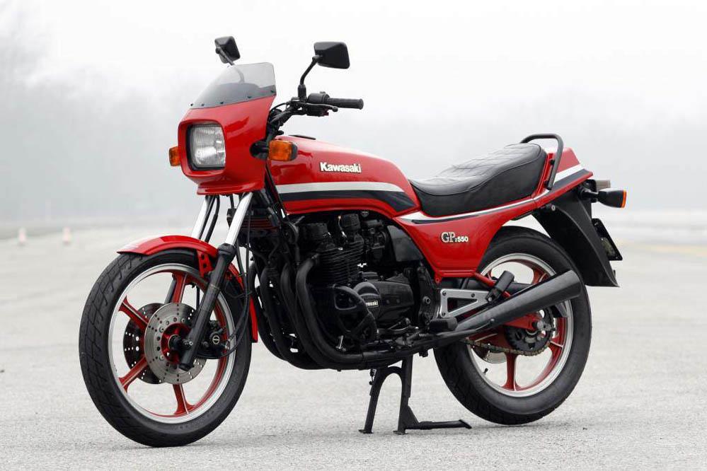 Moto Clásica: Kawasaki GPZ550H
