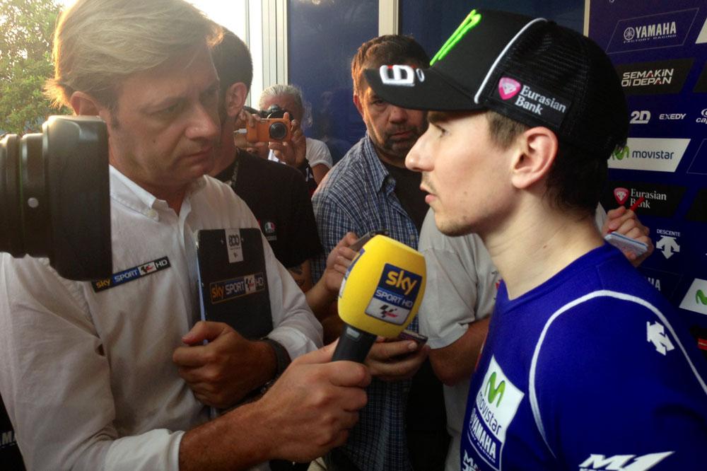 """Lorenzo: Tuve la """"brillante"""" idea de hacer un simulacro cuando más calor hacía"""