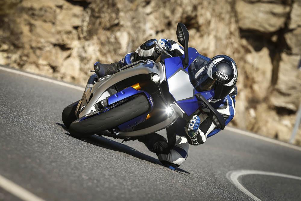 Yamaha YZF-R1 2015. Prueba
